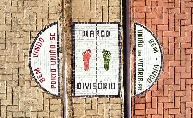 Marco Divisório - União da Vitória
