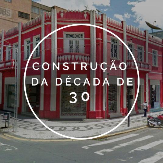Construção da Década de 30