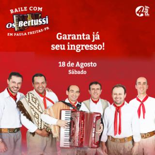 Baile com Os Bertussi em Paula Freitas