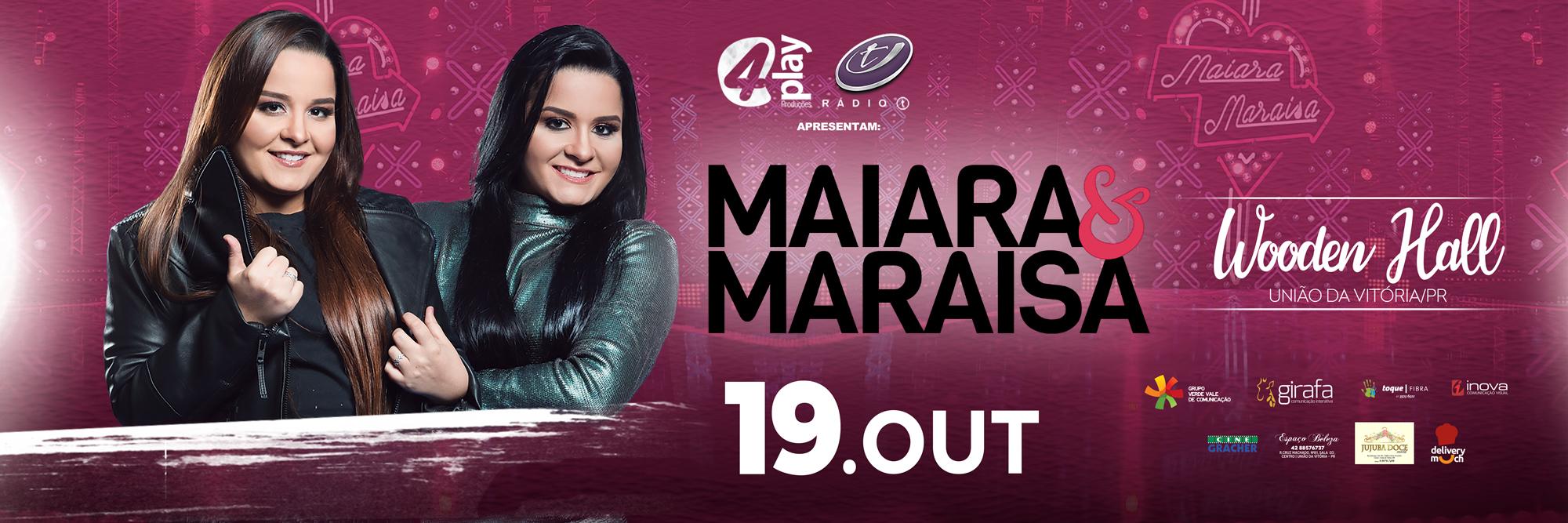 Show com Maiara e Maraísa