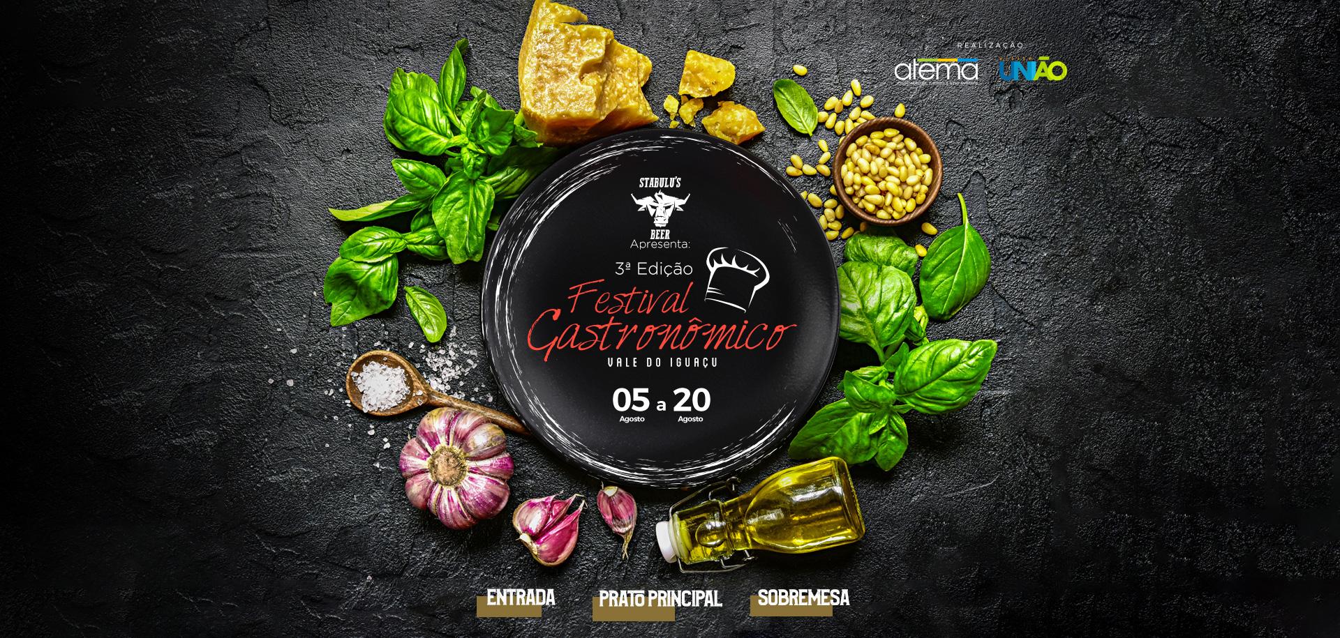 3ª Edição Festival Gastronômico