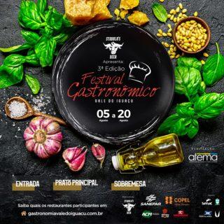 Festival Gastronômico Vale do Iguaçu